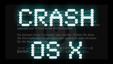Canale Sicurezza - Crash OS X