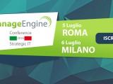 IT Strategico e Sicurezza? ManageEngine Conference 2016!