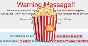 Popcorn Time, il ransomware buono