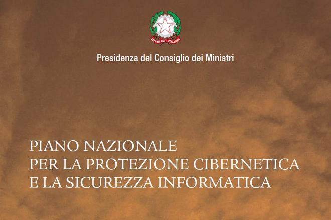 Canale Sicurezza - Piano Nazionale per la protezione cibernetica e la sicurezza informatica