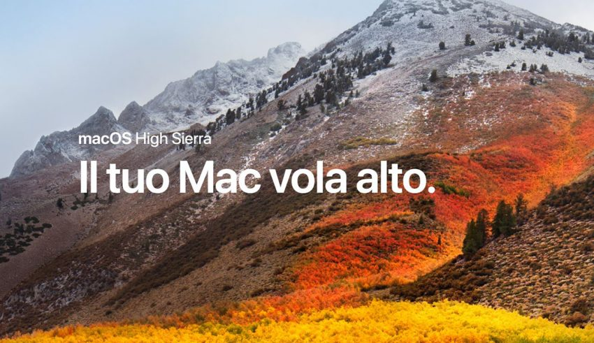Canale Sicurezza - Mac Os High Sierra
