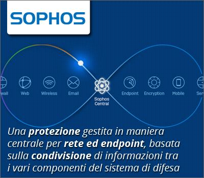 Canale Sicurezza - Sophos