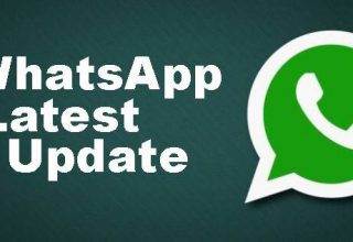 WhatsApp Update.
