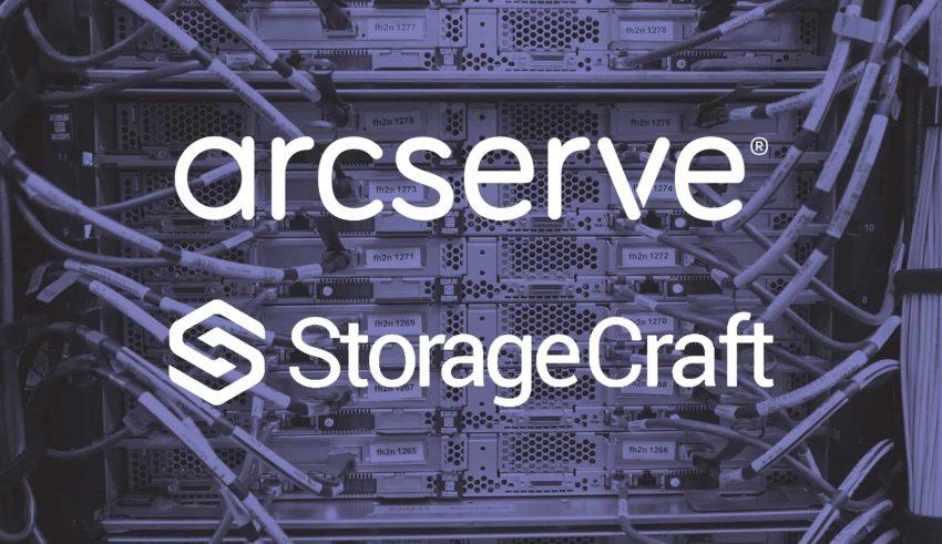 Arcserve & Storagecraft.
